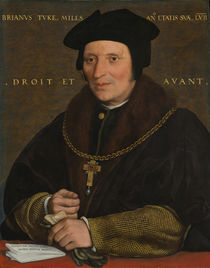 Sir Brian Tuke, c.1527-8 or c.1532-34 von Hans Holbein the Younger