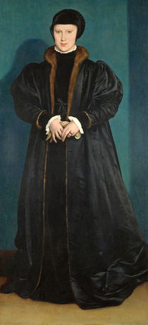 Christina of Denmark Duchess of Milan von Hans Holbein the Younger