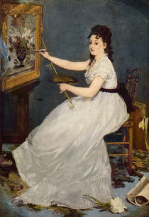 Portrait of Eva Gonzales 1870 by Edouard Manet