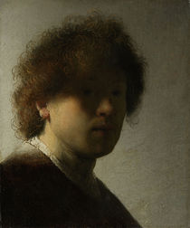 Self Portrait as a Young Man von Rembrandt Harmenszoon van Rijn