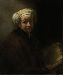 Self portrait as the Apostle Paul von Rembrandt Harmenszoon van Rijn