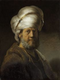 Man in Oriental Dress, 1635 von Rembrandt Harmenszoon van Rijn