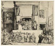 Ecce Homo, 1655 von Rembrandt Harmenszoon van Rijn