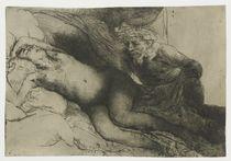 Jupiter and Antiope, c.1659 von Rembrandt Harmenszoon van Rijn