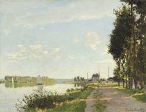 Argenteuil, c.1872 by Claude Monet