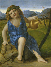 The Infant Bacchus, c.1505-10 von Giovanni Bellini