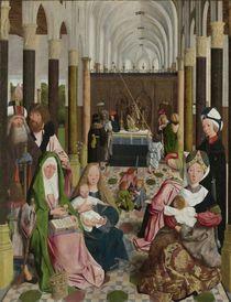 The Holy Kinship, c.1495 von Geertgen tot Sint Jans