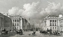 Waterloo Place and part of Regent Street by Thomas Hosmer Shepherd