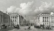 Waterloo Place and part of Regent Street by Thomas Hosmer Shepherd