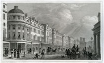 Regent Street, London, from the Quadrant by Thomas Hosmer Shepherd
