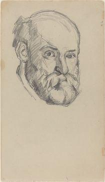 Self-Portait, c.1880-2 by Paul Cezanne