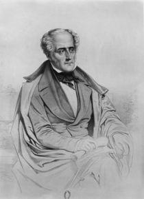Portrait of Chateaubriand von Marie Alexandre Alophe