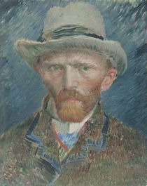 Self-portrait, 1887 by Vincent Van Gogh
