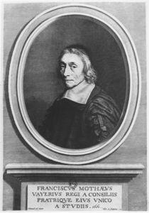 Portrait of François de La Mothe Le Vayer von Robert Nanteuil