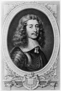Portrait of the Duc de la Rochefoucauld von T. Goutiere