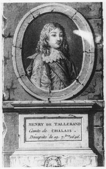 Henri de Talleyrand, Comte de Chalais by French School