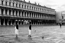 Piazza San Marco at dawn von Dima Veselov