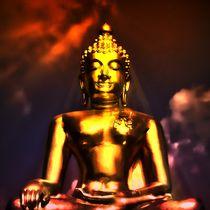 Erleuchteter Buddha 4 by kattobello