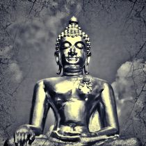 Retro Buddha 1 by kattobello