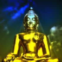 Erleuchteter Budhha 1 by kattobello