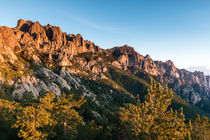 Sonnenaufgang am Col de Bavella von Florian Westermann