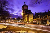 Abendlichter in Freiburg by Patrick Lohmüller