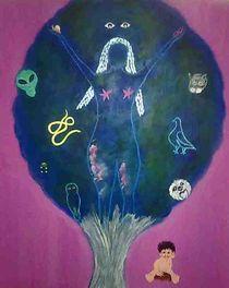 Der Traumbaum by Hildegard Fatahtouii