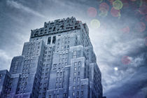 Wyndham New Yorker Hotel Cyanotype by rumtreiberpictures