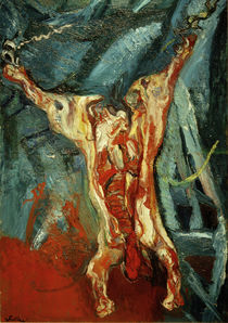 Ch. Soutine, Barcass of beef / painting 1925 by AKG  Images