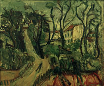 Ch. Soutine, Landscape with houses / painting 1918 by AKG  Images