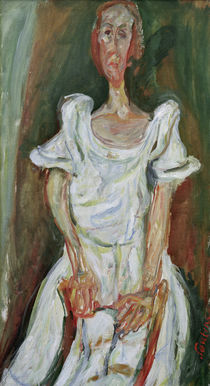 Ch. Soutine, The Bride / painting by AKG  Images