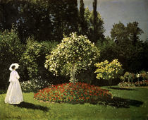 Monet / Woman in a Garden / 1867 by AKG  Images