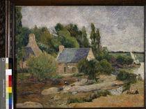 P.Gauguin, Les lavandières a Pont-Avèn by AKG  Images
