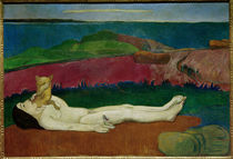 P.Gauguin, The loss of virginity / painting by AKG  Images