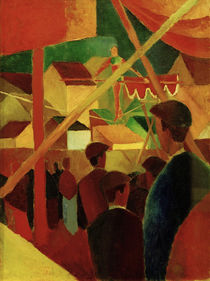 August Macke / Tightrope Dancer by AKG  Images