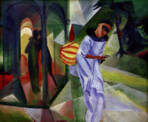 August Macke, Pierrot by AKG  Images