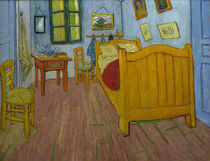 Van Gogh / The bedroom / October 1888 by AKG  Images
