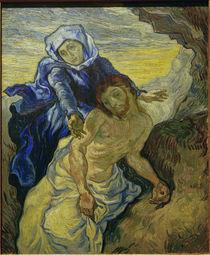 Van Gogh after E.Delacroix, Pietà by AKG  Images