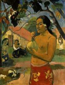 P.Gauguin / Tahitian Woman / Ptg./ 1893 by AKG  Images