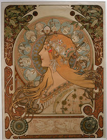 Mucha / Zodiac / 1896 by AKG  Images