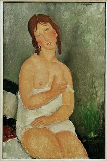 A.Modigliani, Sitzende junge Frau von AKG  Images