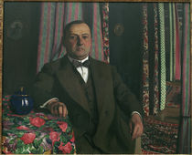 F.Vallotton / Portr. of Monsieur Hasen by AKG  Images
