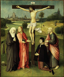 Hieronymus Bosch / Crucifixion by AKG  Images