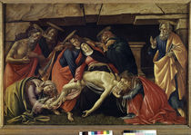 Botticelli, Mourning Christ by AKG  Images