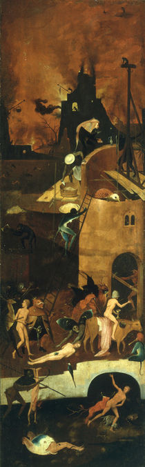 Hell / The Haywain / Triptych / H. Bosch / c.1490 by AKG  Images