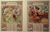 A.Mucha / Calendar 1898 by AKG  Images