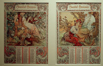 A.Mucha, Calendar 1898 by AKG  Images