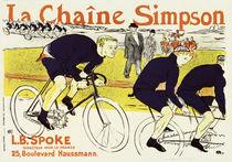 Toulouse-Lautrec, La Chaîne Simpson von AKG  Images