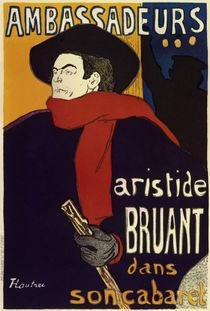 Toulouse-Lautrec / Ambassadeurs / Poster by AKG  Images