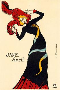 Toulouse-Lautrec / Jane Avril / 1899 by AKG  Images